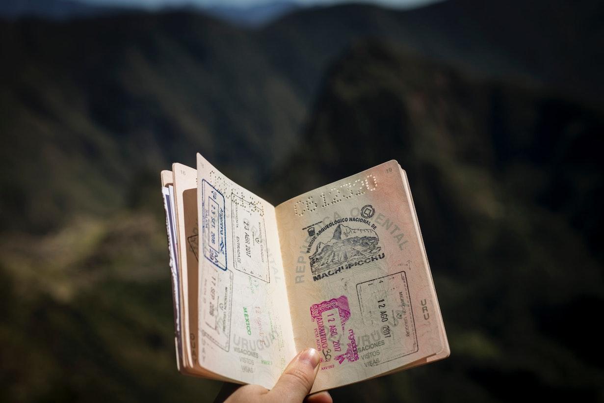 欄 パスポート 住所